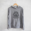 Whisper the Goldendoodle - French Terry Hooded Sweatshirt