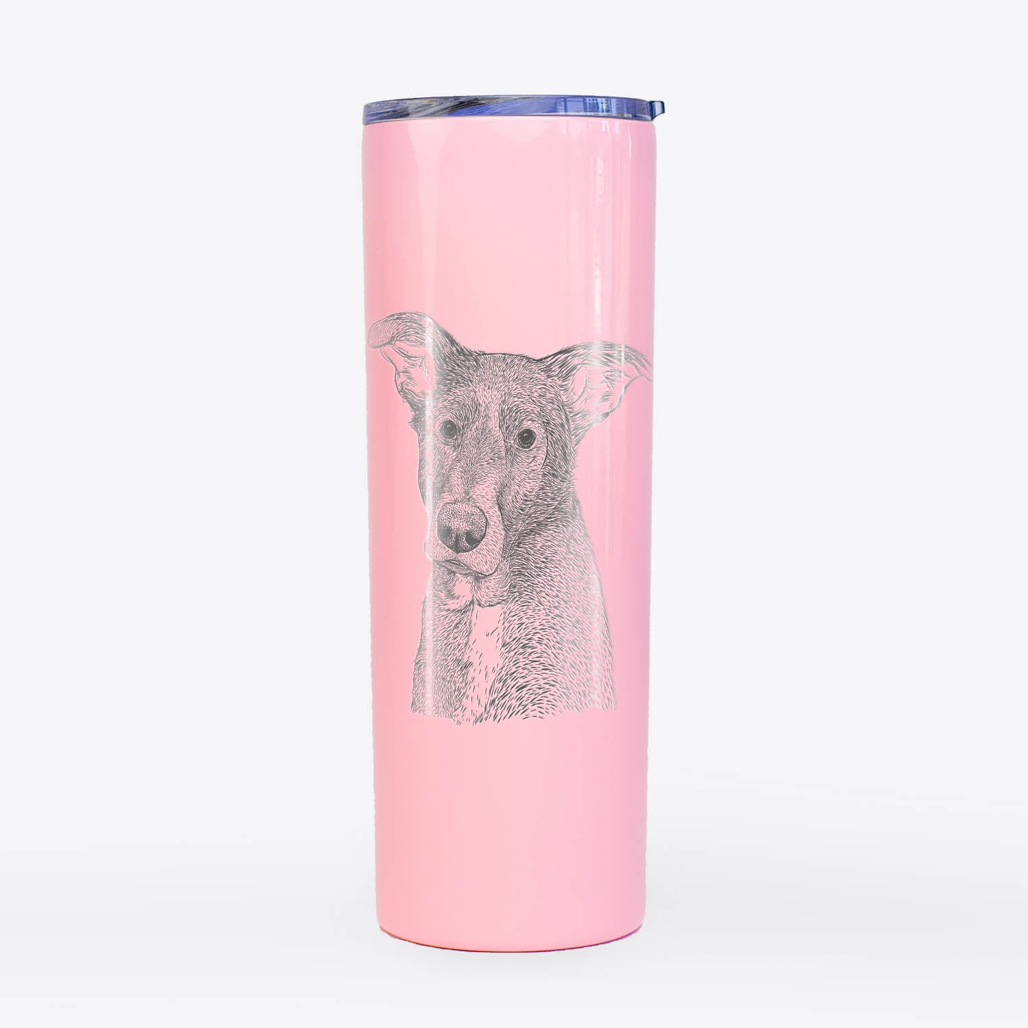 Wilbur the Shepherd Mix - 20oz Skinny Tumbler
