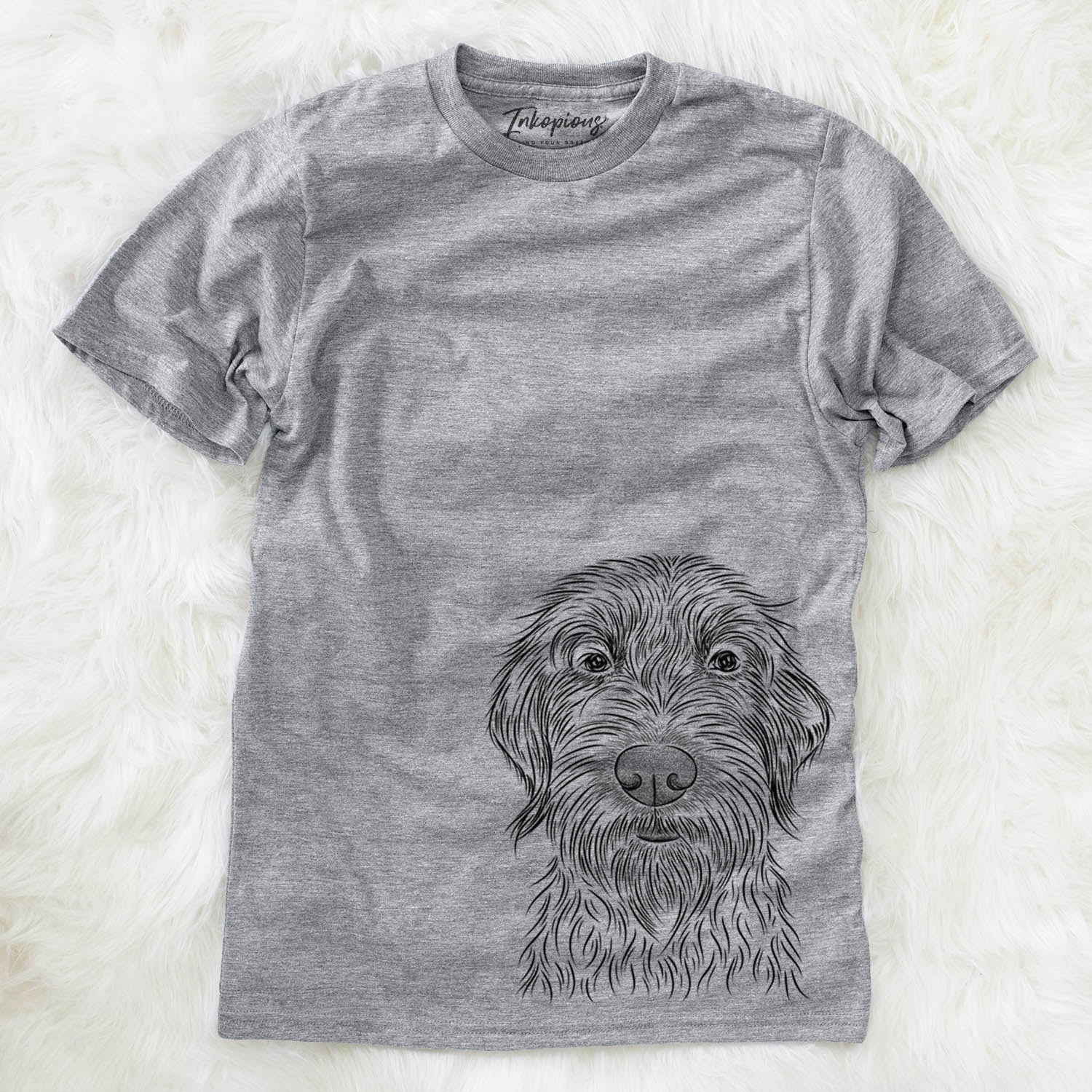 Wilkins the Wirehaired Pointing Griffon - Unisex Crewneck
