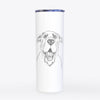 Wilson the Rottweiler Mix - 20oz Skinny Tumbler