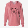 Zoe the Yellow Lab - Cali Wave Hooded Sweatshirt