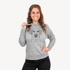 Zoe the Yellow Lab - French Terry Hooded Sweatshirt