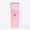 Zoe the Yellow Lab - 20oz Skinny Tumbler