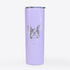 Ella the French Bulldog - 20oz Skinny Tumbler