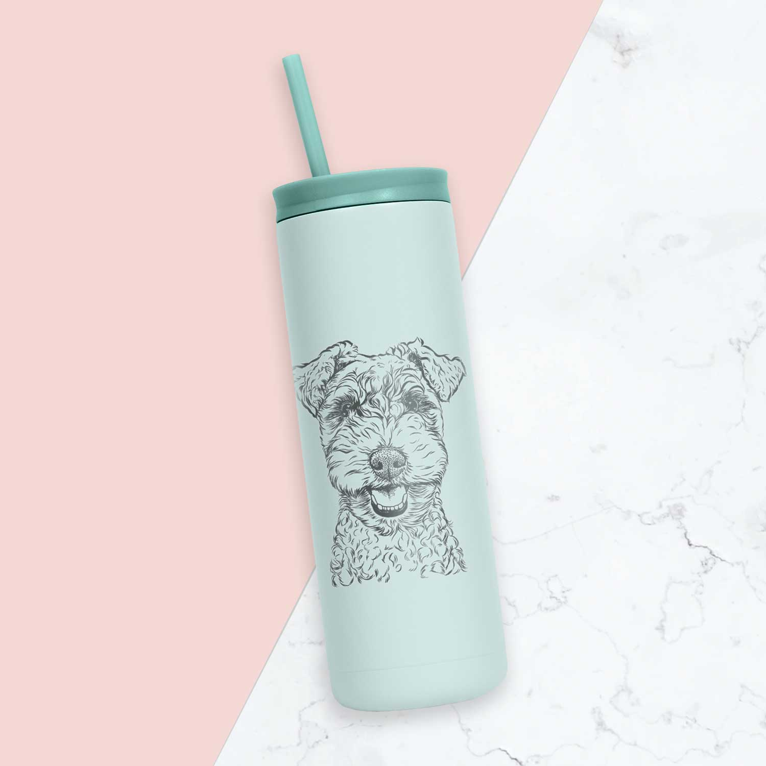Fintan the Irish Troodle - 20oz Maker Tumbler