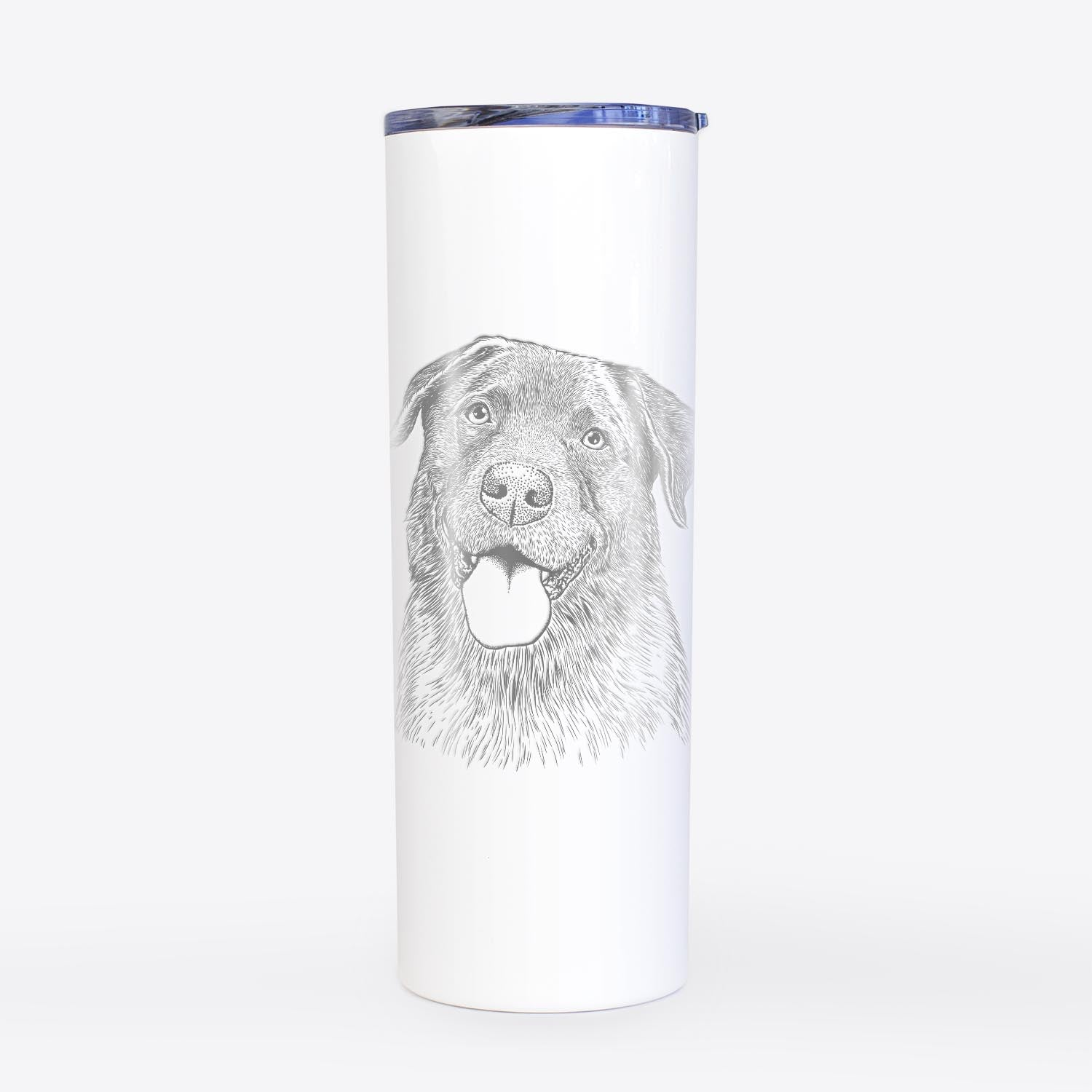 Gonzo the Chocolate Lab - 20oz Skinny Tumbler