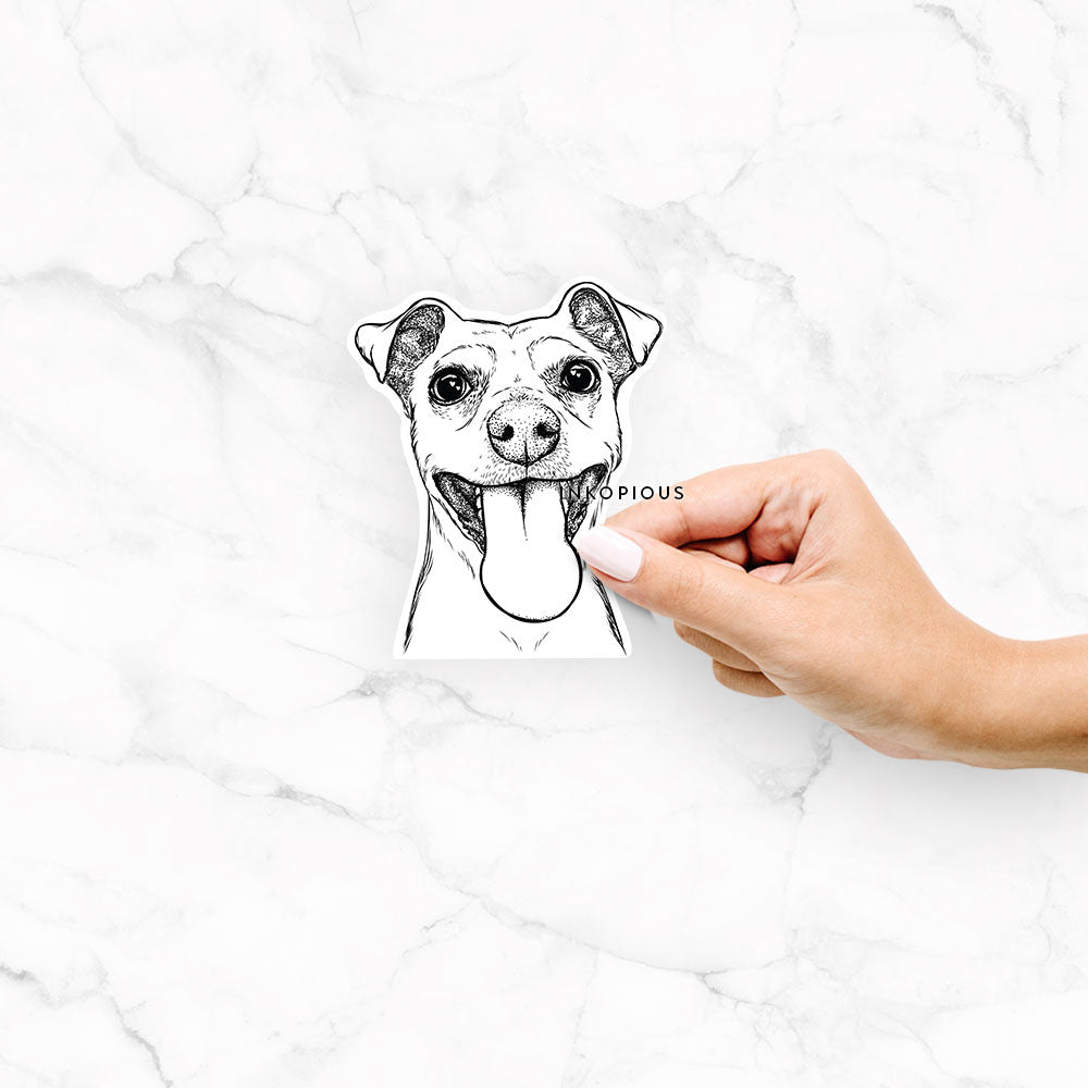 Lemmie the Mixed Breed - Decal Sticker