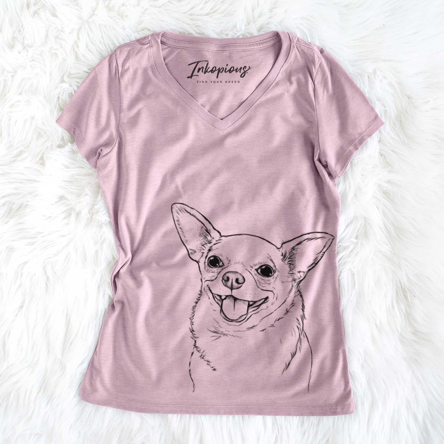 Maddison Pearl the Chihuahua - Women's Perfect V-neck Shirt