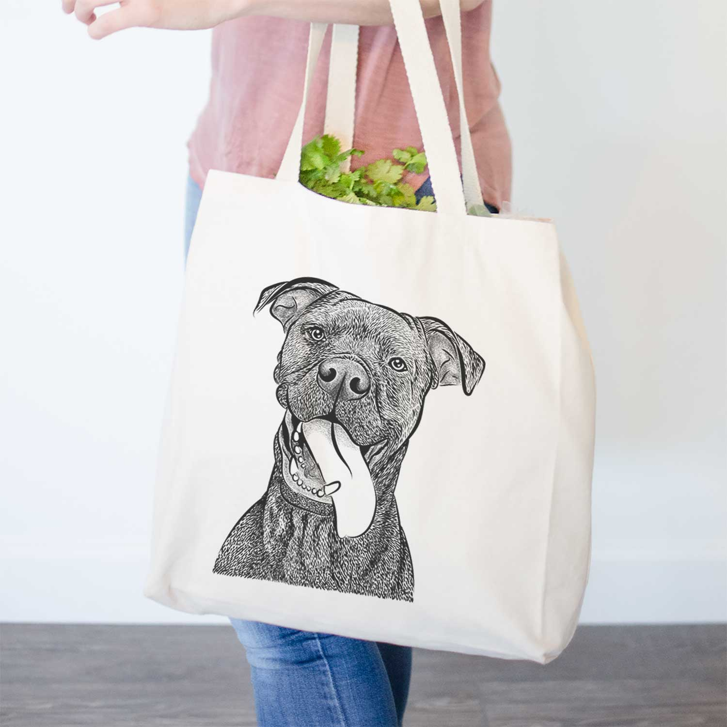 Mikey the Boxador - Tote Bag