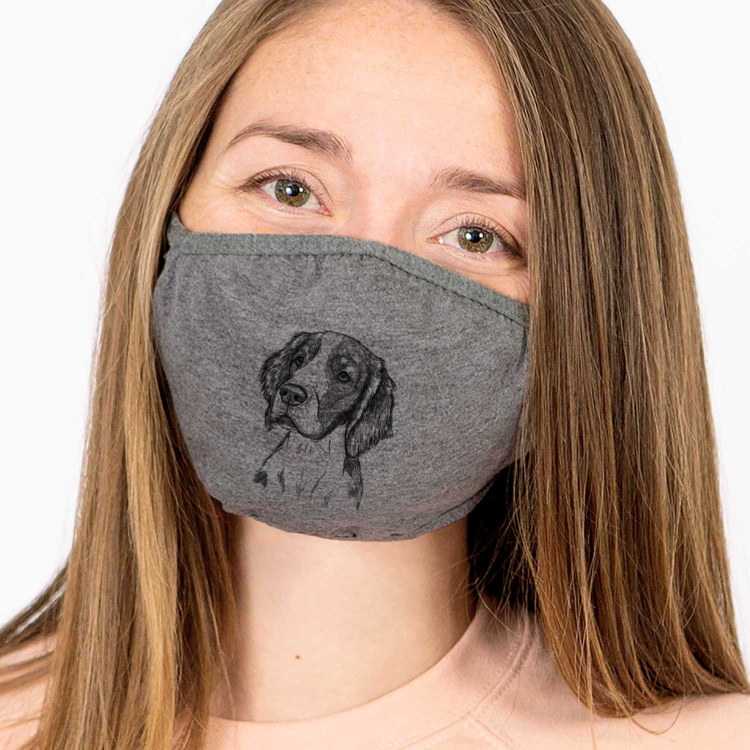 Roxy the Welsh Springer Spaniel Face Mask
