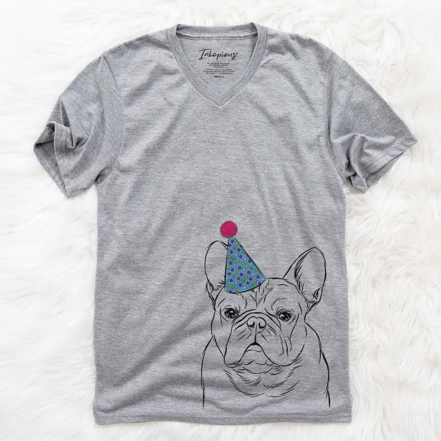 Fudge the French Bulldog  - Birthday Collection