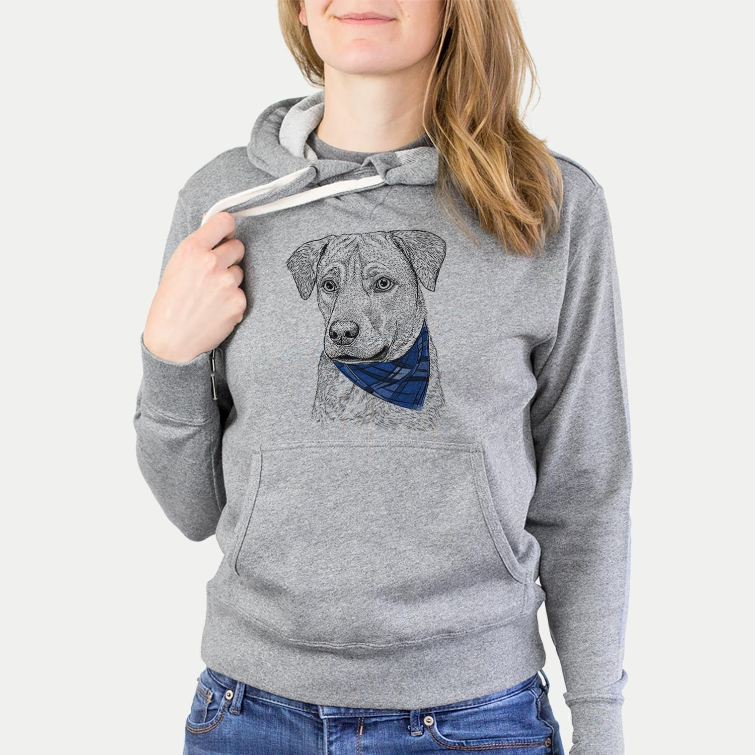 Feta the Mixed Breed  - Sweatshirts - Bandana Collection