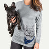 Gaston the French Bulldog  - Unisex - Bandana Collection
