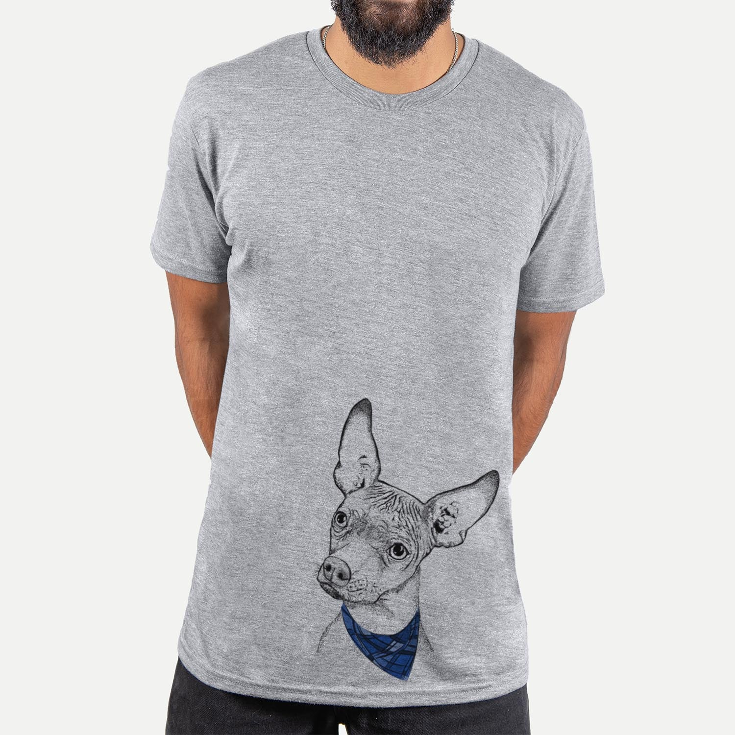 Kahlo the Xoloitzcuintli  - Unisex - Bandana Collection