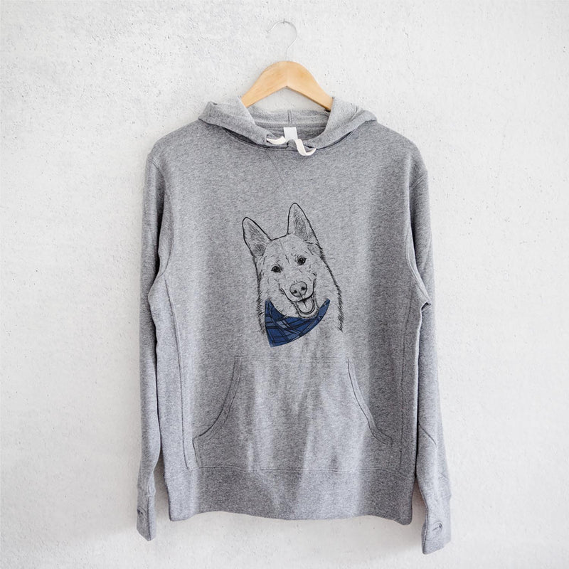 Loki the Husky Shepherd Mix  - Sweatshirts - Bandana Collection