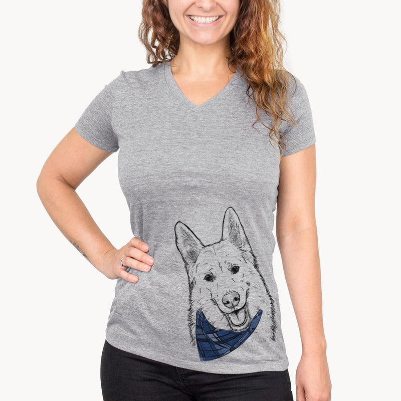 Loki the Husky Shepherd Mix  - Womens - Bandana Collection