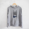 Milo the Pitbull Mix  - Sweatshirts - Bandana Collection
