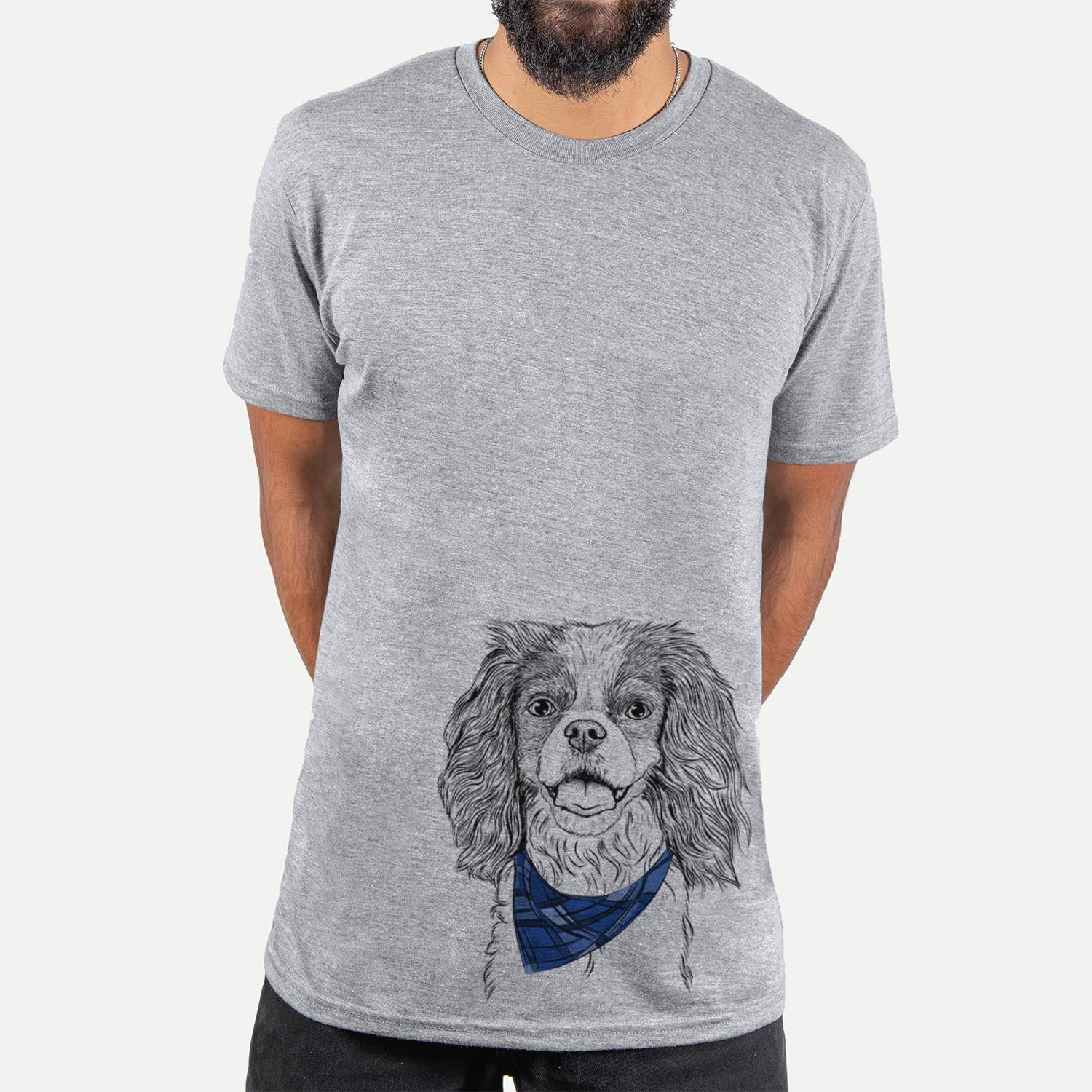 Poppy the Cavalier King Charles Spaniel  - Unisex - Bandana Collection