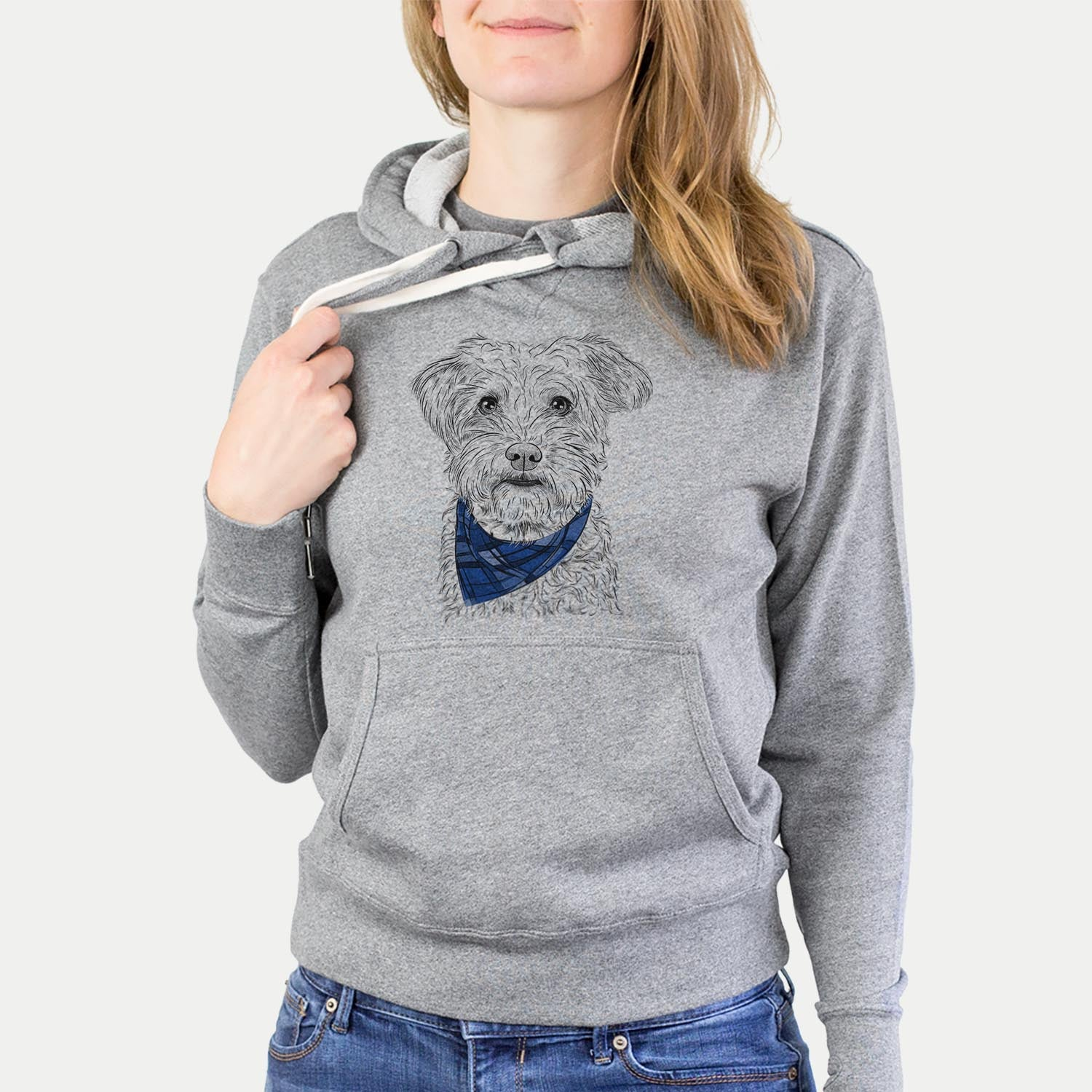 Rudy the Schnoodle  - Sweatshirts - Bandana Collection