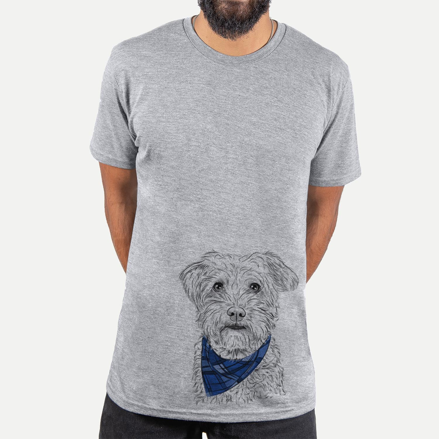 Rudy the Schnoodle  - Unisex - Bandana Collection