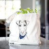 Tanner the Fox Terrier - Tote Bag