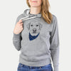 Zoe the Yellow Lab  - Sweatshirts - Bandana Collection