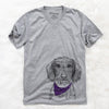 Almond the Wirehaired Dachshund  - Unisex - Bandana Collection