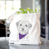 Benjamin the Border Terrier - Tote Bag