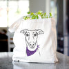 Diva the Greyhound - Tote Bag