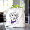 Marley the Golden Retriever - Tote Bag