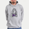Stu the Black and Tan Coonhound  - Sweatshirts - Bandana Collection