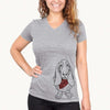 Charlie the Basset Hound  - Womens - Bandana Collection