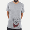 Zoe the Yellow Lab  - Unisex - Bandana Collection