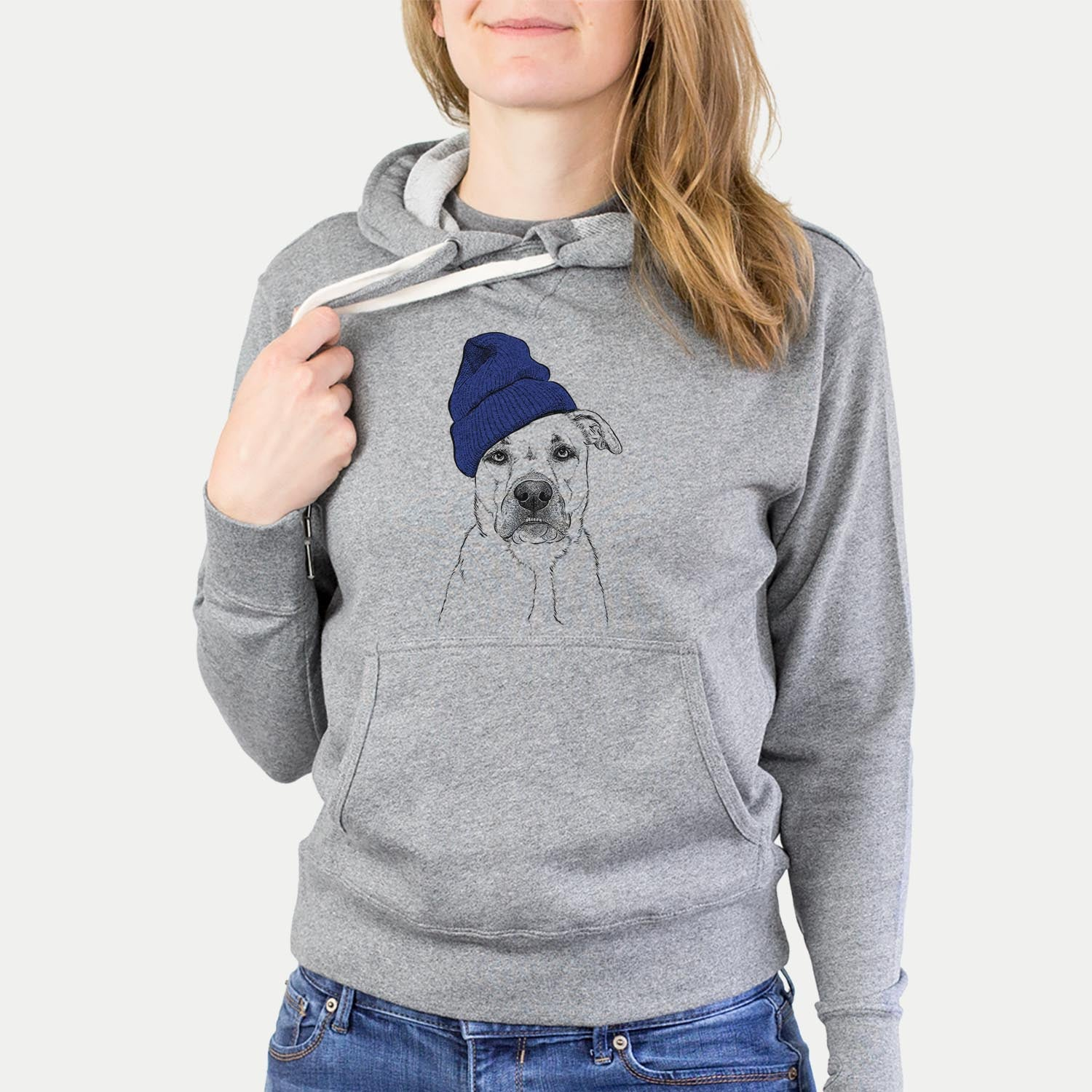 Abby the Boxer Beagle Mix  - Sweatshirts - Beanie Collection