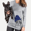 Bean the Boston Terrier  - Unisex - Beanie Collection