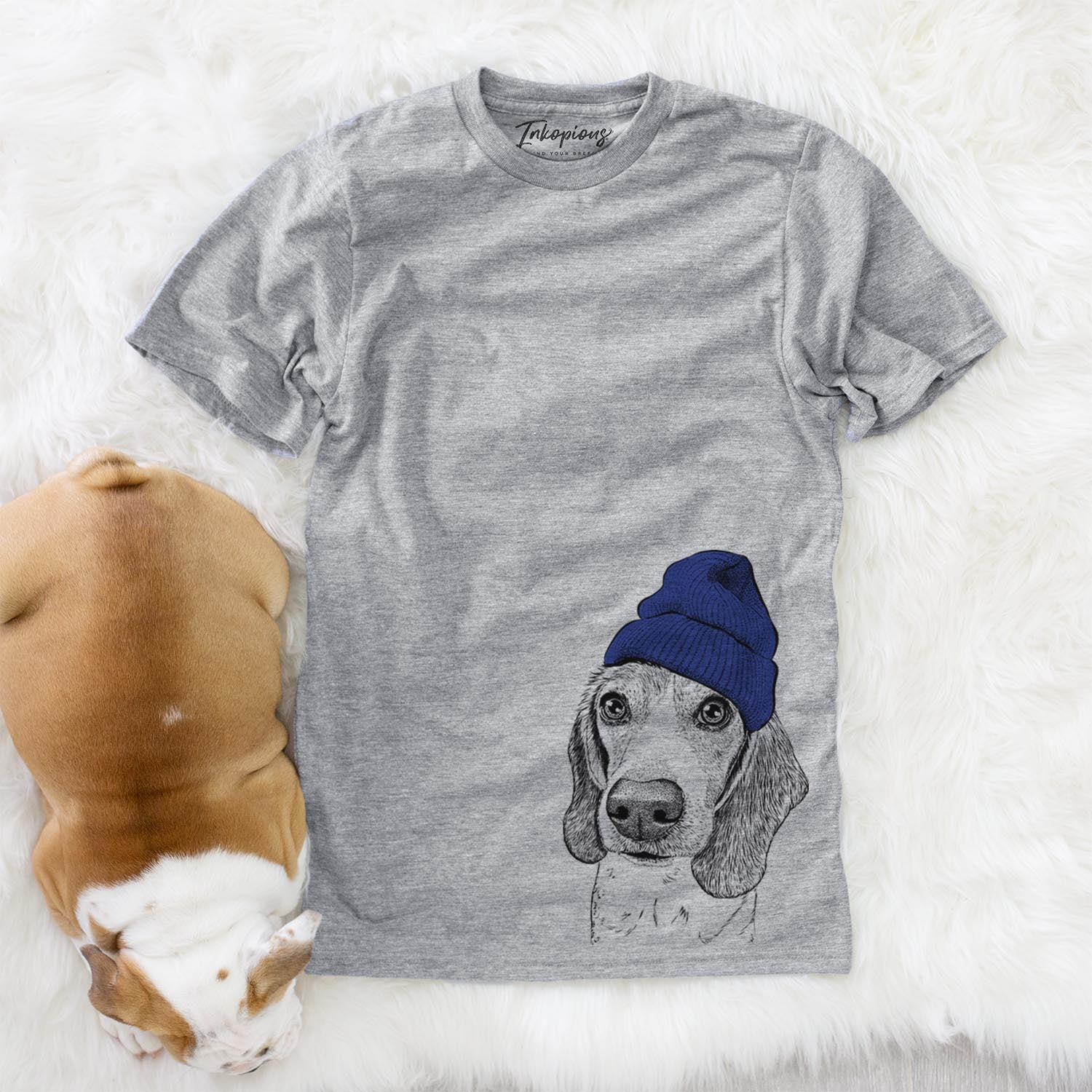 Elvis the Beagle  - Womens - Beanie Collection