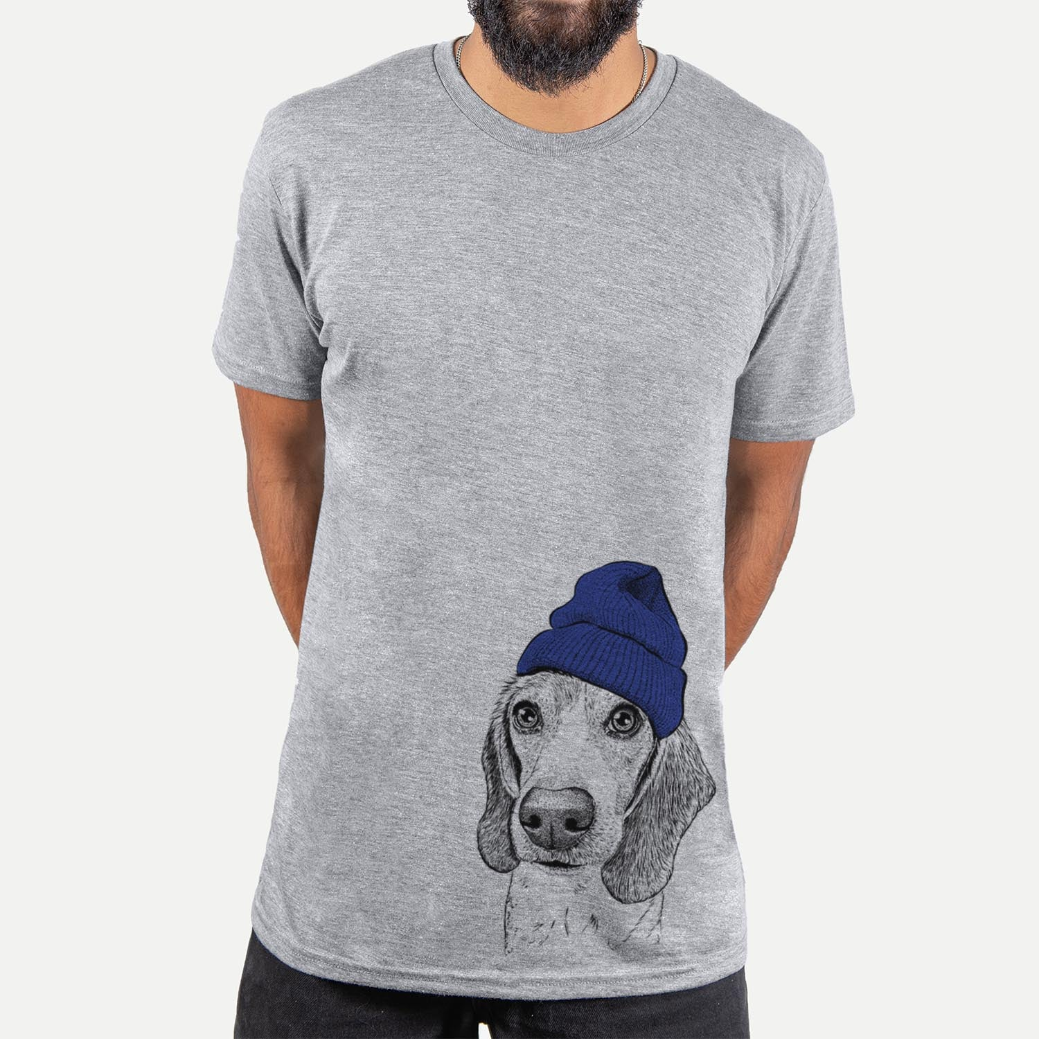 Elvis the Beagle  - Unisex - Beanie Collection