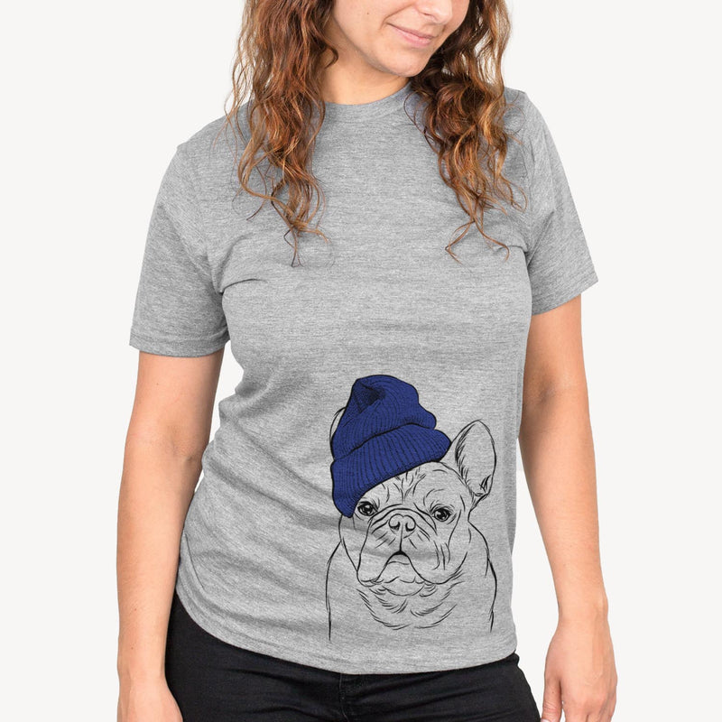 Fudge the French Bulldog  - Unisex - Beanie Collection
