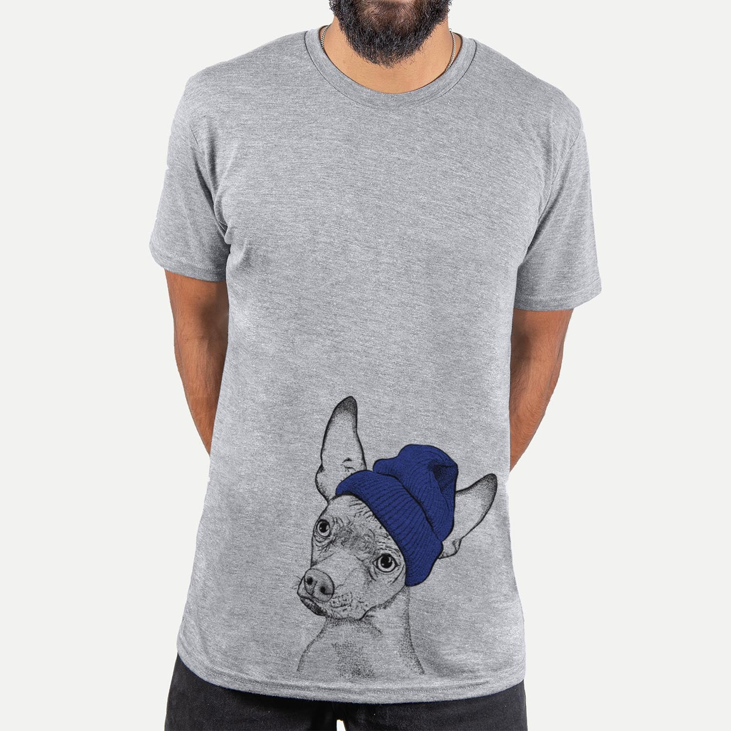 Kahlo the Xoloitzcuintli  - Unisex - Beanie Collection
