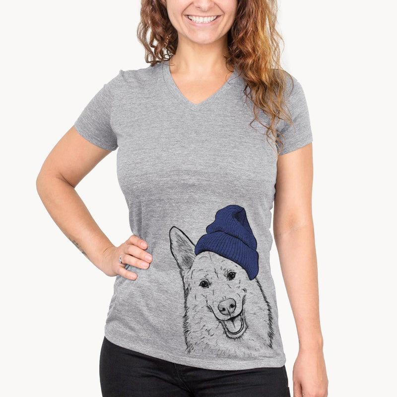 Loki the Husky Shepherd Mix  - Womens - Beanie Collection