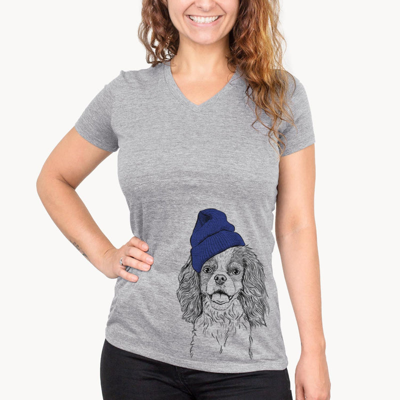 Poppy the Cavalier King Charles Spaniel  - Womens - Beanie Collection