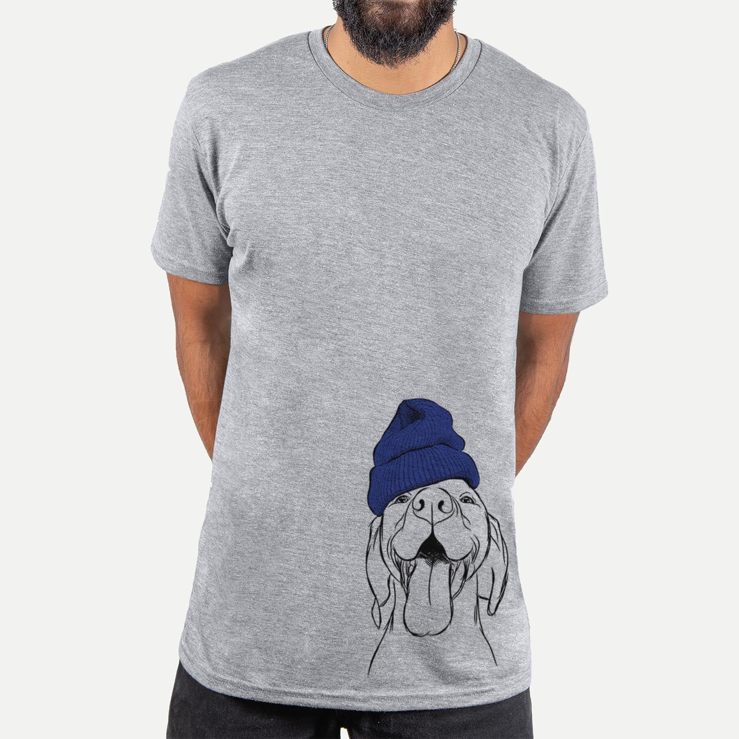 Rhys the Vizsla  - Unisex - Beanie Collection
