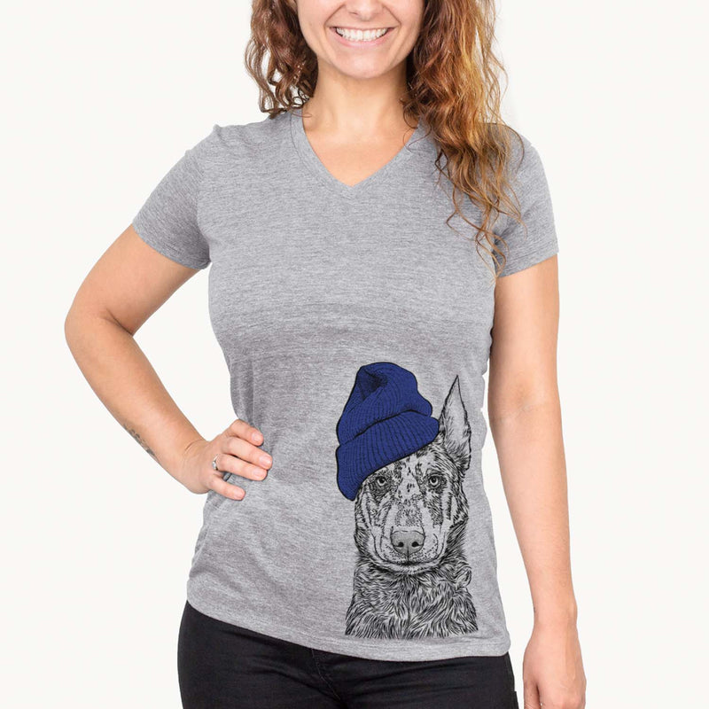 Riggs the Beauceron  - Womens - Beanie Collection