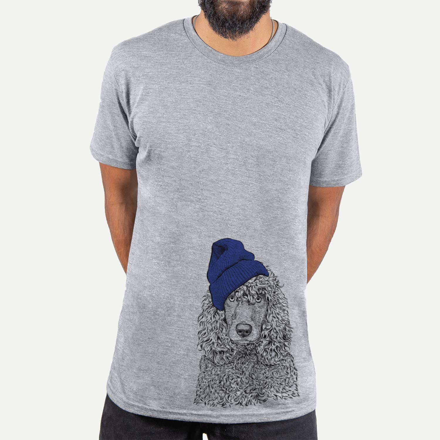 Shilo the Irish Water Spaniel  - Unisex - Beanie Collection
