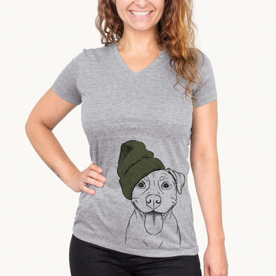 Parker the Pitbull  - Womens - Beanie Collection