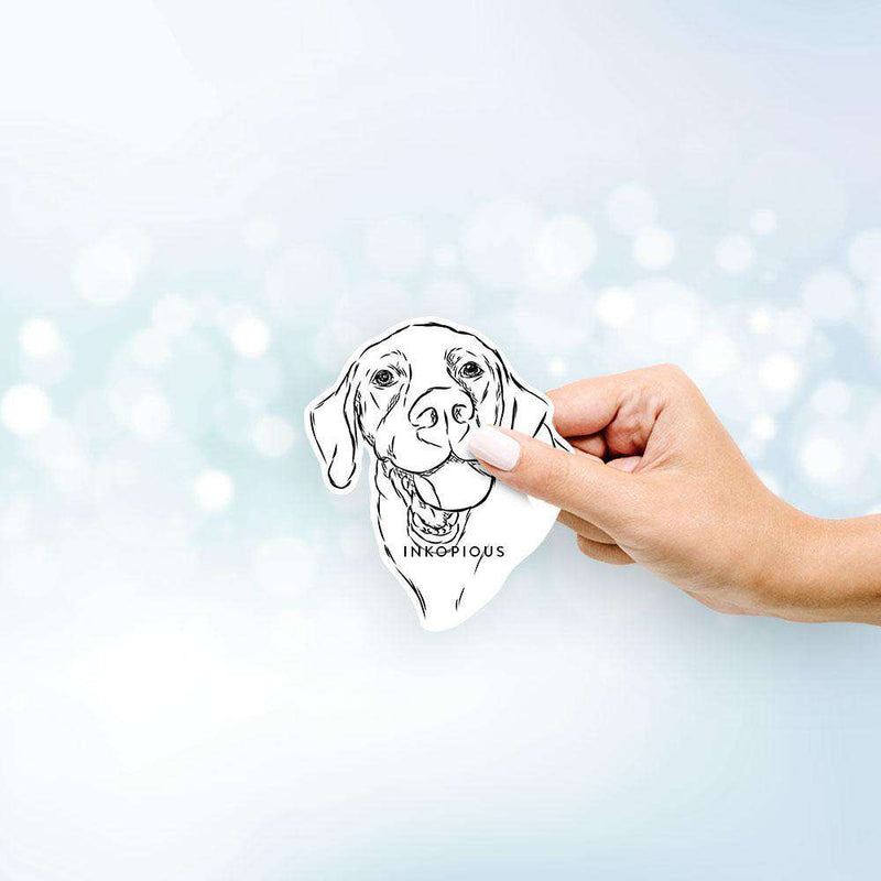 Bailey the Labrador Retriever - Decal Sticker