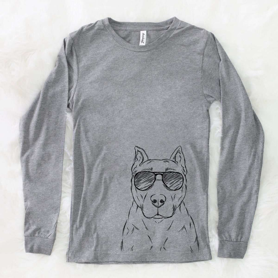 Bane the American Staffordshire Terrier - Long Sleeve Crewneck