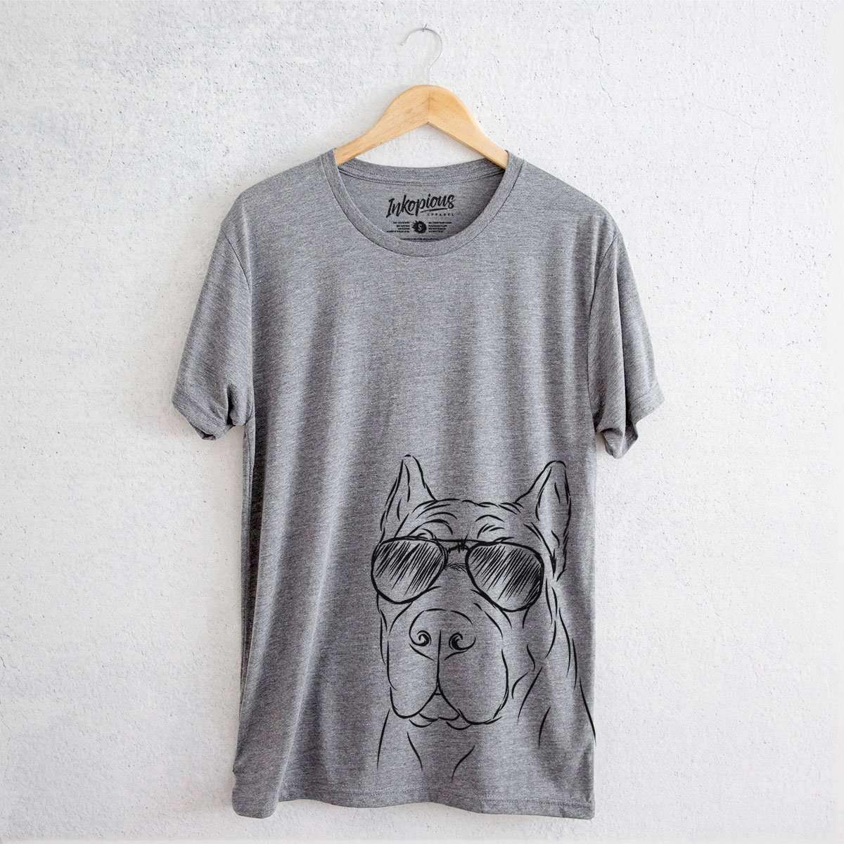 Bearson the Cane Corso - Tri-Blend Unisex Crew Shirt