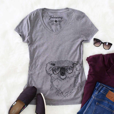 Bentley the Koala - Women's Modern Fit V-neck Shirt
