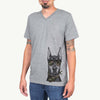 Drake the Doberman Pinscher  - Camouflage Collection